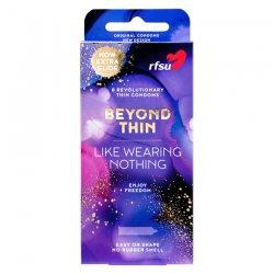 RFSU Beyond Thin True Feeling 8-pack kondomer - Den naturliga kondomen